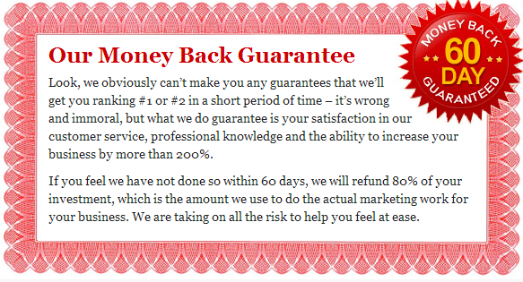 SEO Thailand Money Back